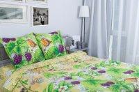 Этель Ежевика Комплект 1.5 спальный Поплин 1154323