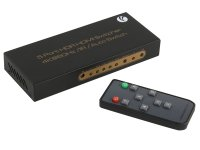 Сплиттер VCOM Switcher HDMI 2.0 5x1 DD465