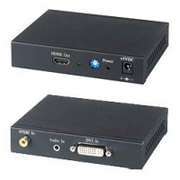 SC&T DH01 SC&T DH01 Преобразователь DVI- и аудиосигнала в HDMI- c игнал