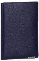 Обложка для документов женская Leo Ventoni, цвет: темно-синий. L330959