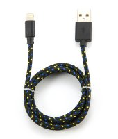Аксессуар Konoos APPLE 8-pin Lightning для iPhone 5/6/iPod/iPad 1m KC-A2USB2nbk