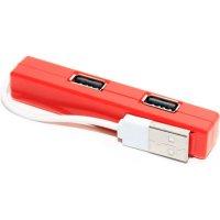 """5bites Разветвитель 4 порта USB2.0 """"HB24-204RD"""", внешн. (ret) [128184]"""