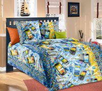 ТексДизайн Комплект детского постельного белья Смартфон 1,5-спальный