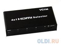 Переключатель HDMI 1.4V 4=)1 VCOM (DD434)