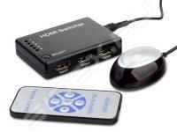 Переключатель Greenconnect KVM HDMI HD19Fx5/19F 5 устройств - 1 монитор GC-HDSW501M