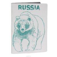 """Обложка для автодокументов Mitya Veselkov """"Медведь"""". AUTOZAM302"""