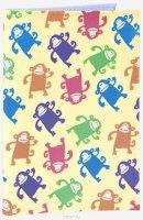 Обложка для автодокументов Смешные обезьянки. AUTO386