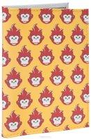 Обложка для автодокументов Много огненных обезьян. AUTO384