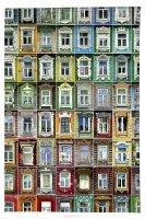 Mitya Veselkov Обложка для автодокументов Маленькие окна. AUTOZAM374