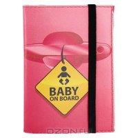 """Обложка для автодокументов """"Baby on board"""". Ad 7.10"""