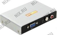 ST-Lab (M-450) VGA to HDMI Converter (VGA(15F)+2xRCA--)HDMI 19F) + б.п.