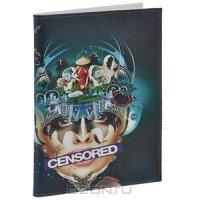 """Обложка для автодокументов """"Censored"""". VD-GL-26"""