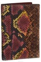 Обложка для документов женская Vitacci, цвет: бордовый. HS086