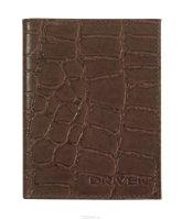 """Обложка для автодокументов """"Driver"""", цвет: коричневый. АО 3 СР"""