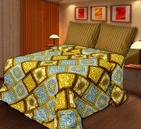 Хлопковый Рай Старое золото Комплект 2 спальный Бязь