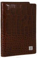 Обложка для автодокументов Sergio Belotti 1424 milano brown / коричневый