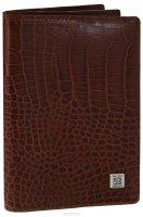 Обложка для документов Sergio Belotti, цвет: коричневый. 1424
