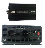 Автоинвертор DC Power DS-3000/24 3000W (3000 Вт) преобразователь с 24 В на 220 В