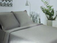 Этель Серый опал Комплект 1.5 спальный Сатин 2594339