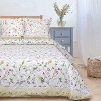 Этель Полевые цветы Комплект 1.5 спальный Поплин 1972258