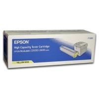 Тонер-картридж для Epson AcuLaser C2600, C2600N, C2600DN, C2600DTN (С 13S050226 0226) (желтый)