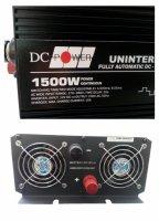 Автоинвертор DC Power DS-UPS1500/12 1500W (1500 Вт) преобразователь с 12 В на 220 В