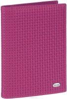 Обложка для автодокументов женская Petek 1855, цвет: малиновый. 584.020.38