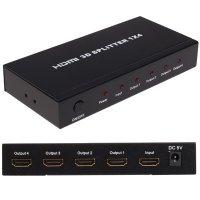 Аксессуар Orient HDMI 1.4/3D Splitter 1x2 HSP0102H