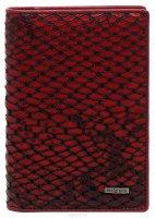 Обложка для документов женская Malgrado, цвет: красный. 54019-52501